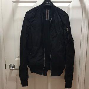 9.5/10 Rick Owens DrkShdw Black Bomber Jacket